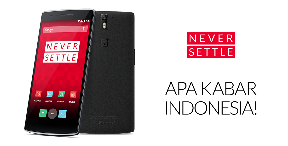 OnePlus One Launching In Indonesia, Pre-Orders Start January 27th Exclusively Through Lazada