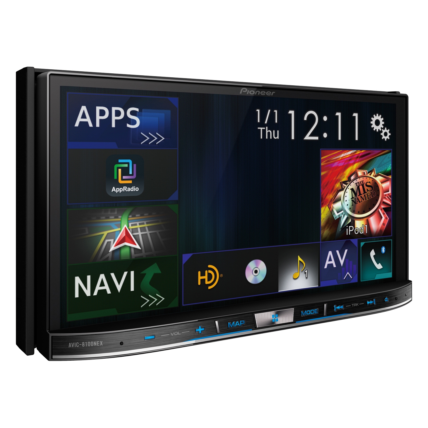 pioneer announces new head units with android auto support priced at 700 to 1400. Black Bedroom Furniture Sets. Home Design Ideas