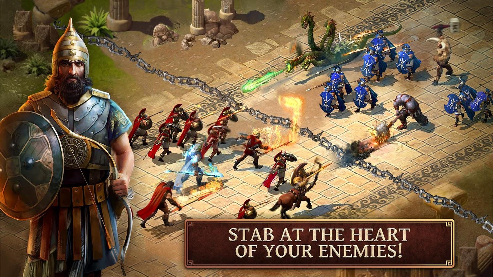 Online Sparta Game