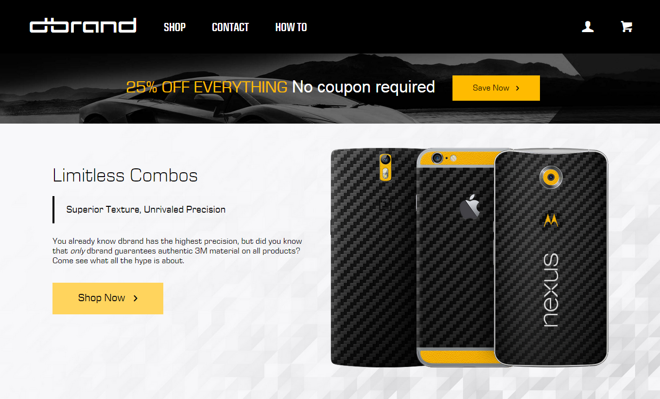 [Deal Alert] All dbrand Skins Are 25% Off For Today Only