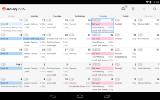 Sunrise Calendar Updated To v2.0 With A Tablet UI, More ...