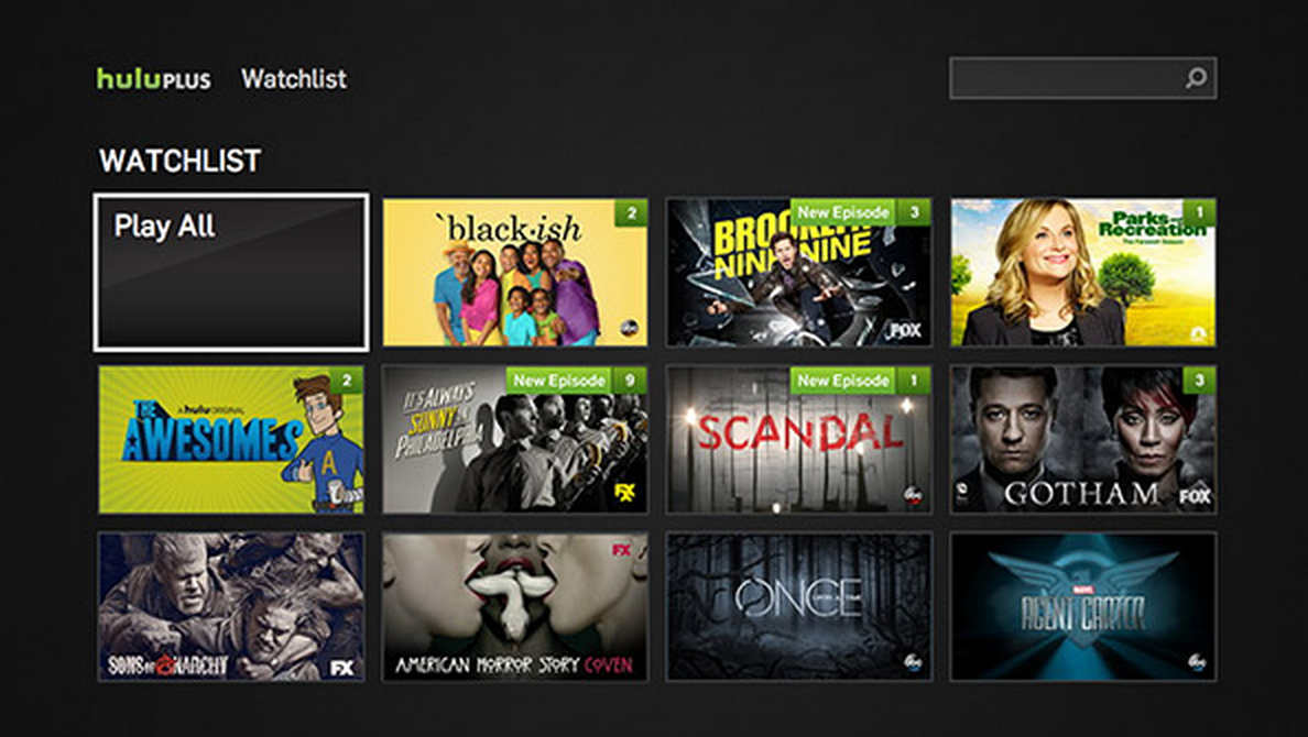 Hulu Introduces Watchlist, Its New And Smarter Way To Keep Up With The Shows You're Currently ...