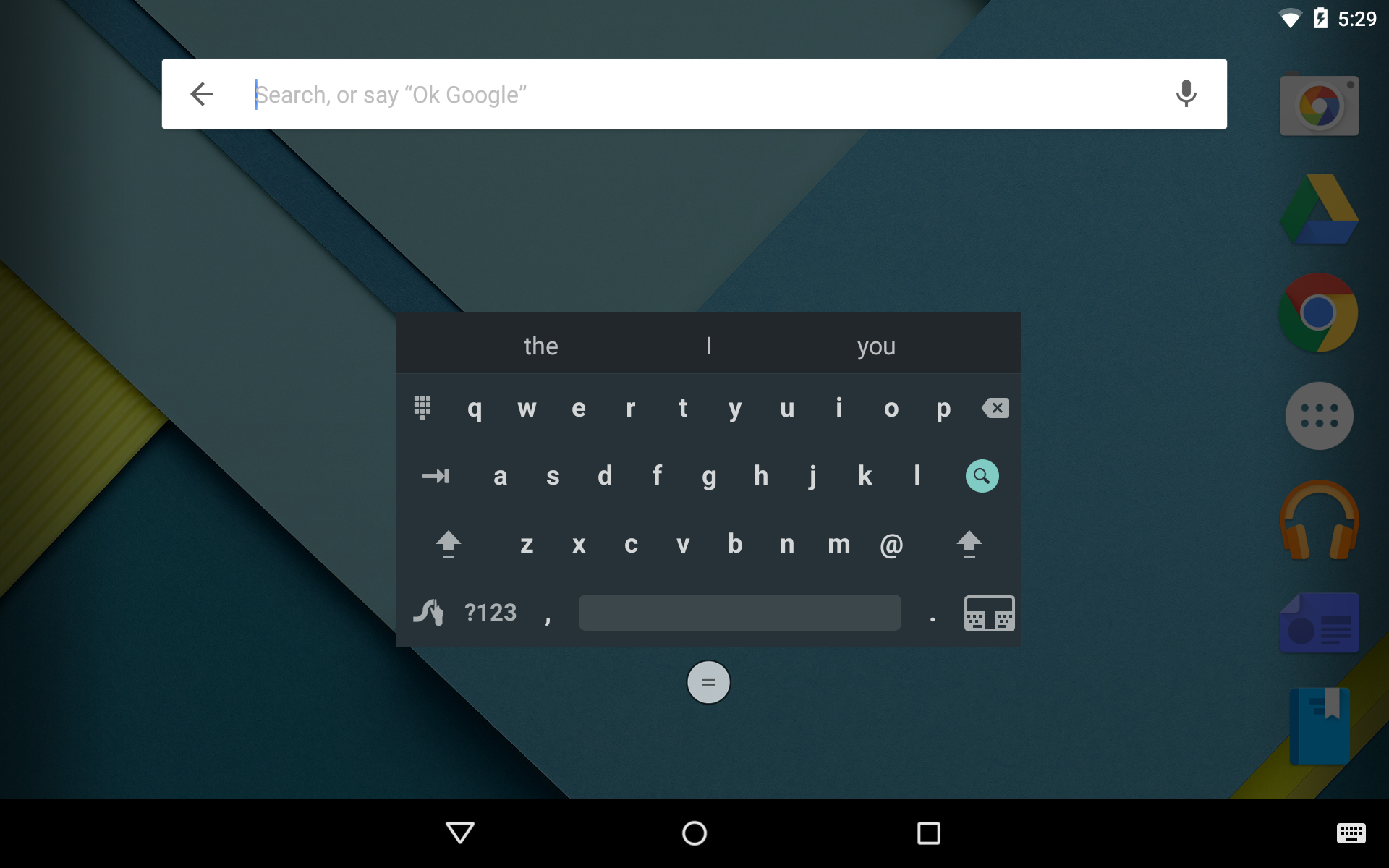 Google themes that move - Swype1