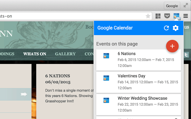 Google Calendar Design : Google calendar chrome extension gets material in version
