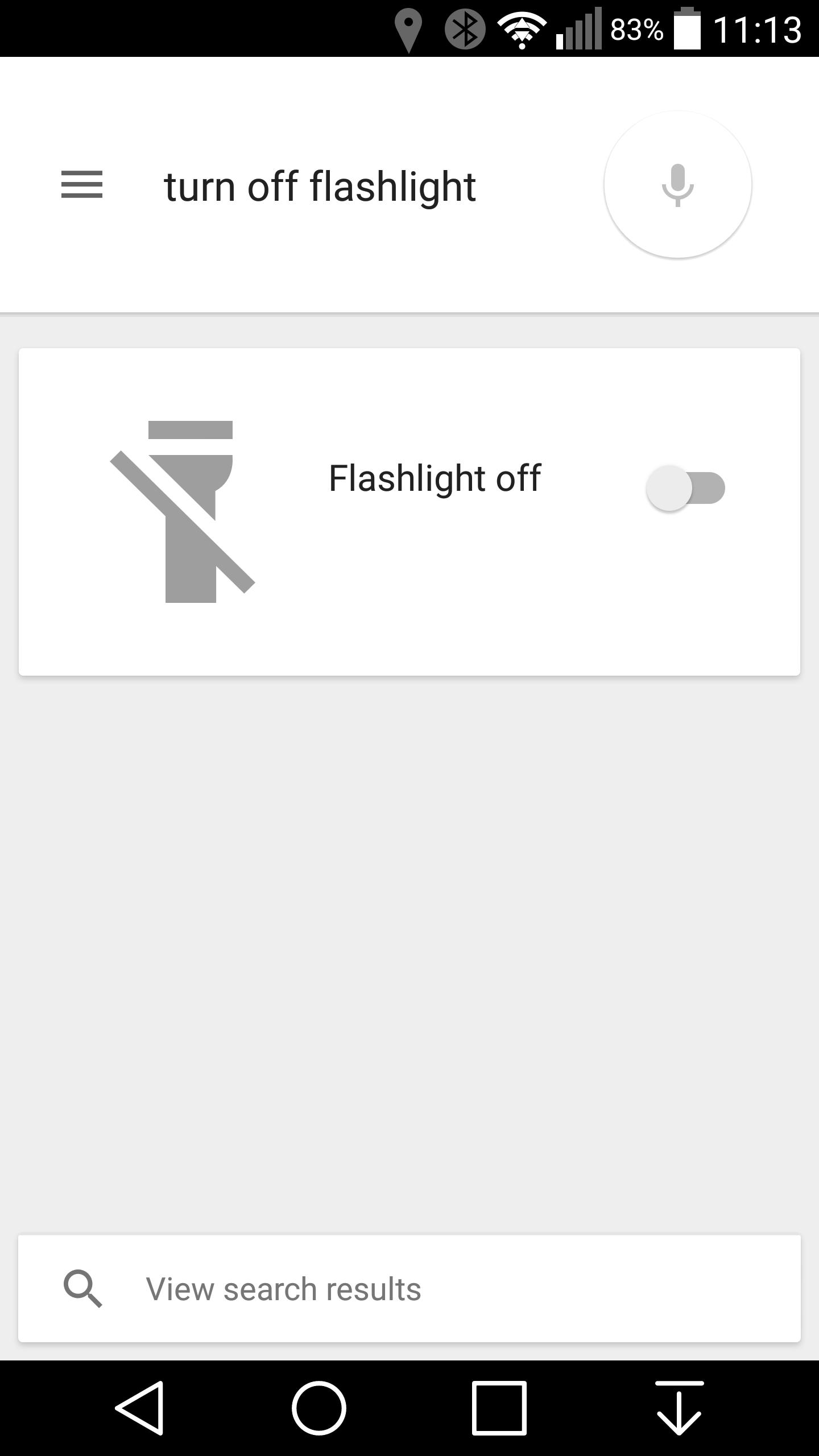 Turn Off Bluetooth When Not In Use Nexuscee Lollipop Google Now Toggle Flashlight