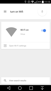 how to turn off voice commands on android phone