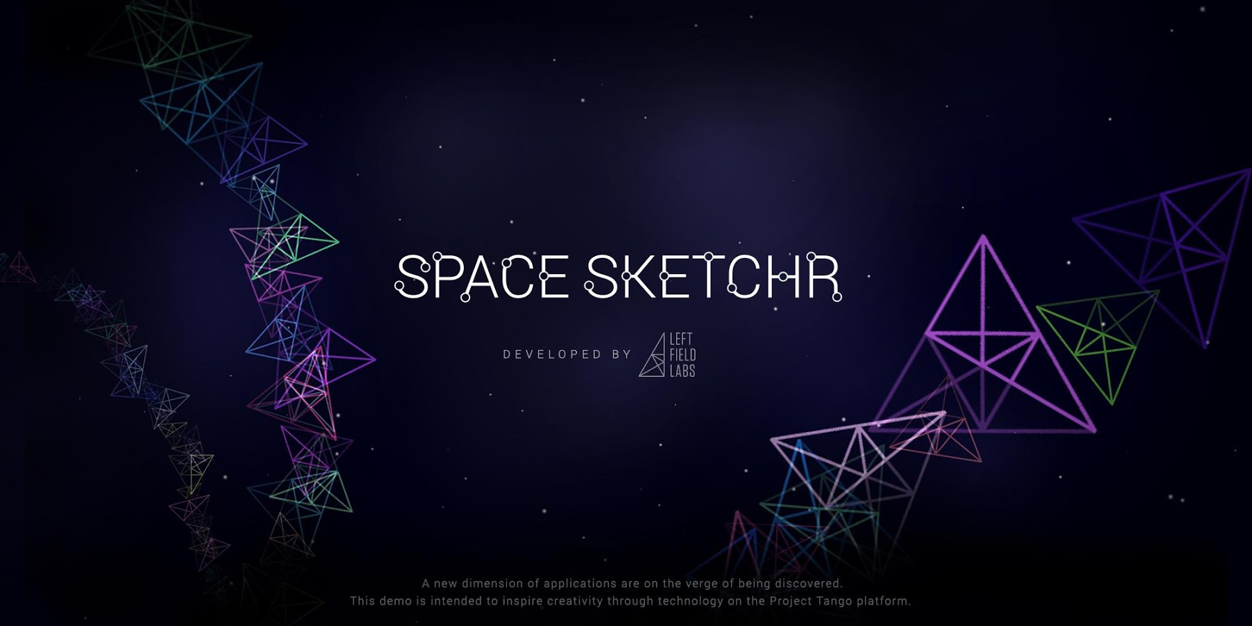 Space Sketchr By Left Field Labs Lets You Doodle With Project Tango, And It's Pretty Impressive To Watch