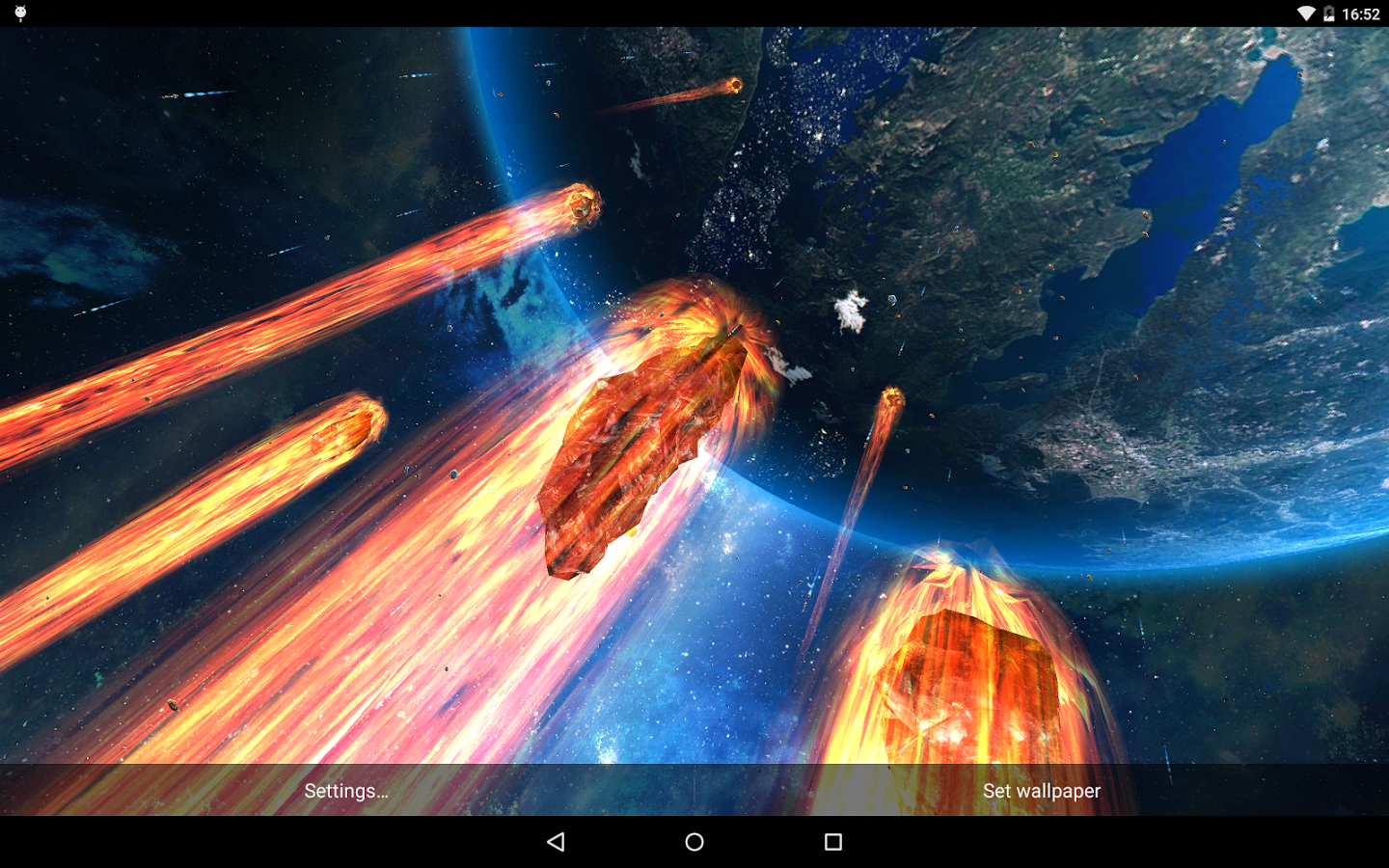 Watch The World End With The New Armageddon Live Wallpaper From