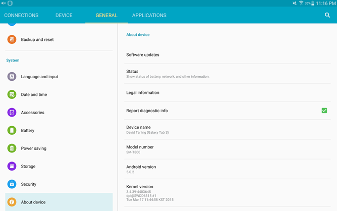 Samsung Galaxy Tab S 10 5 Lollipop Update Rolling Out In The US