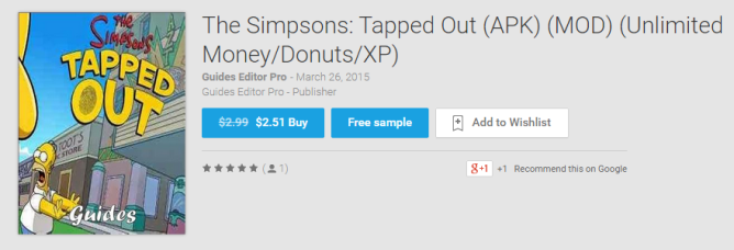 2015-03-03 13_31_36-The Simpsons_ Tapped Out (APK) (MOD) (Unlimited Money_Donuts_XP) - Books on Goog
