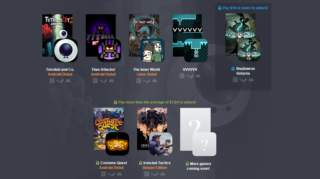 The Humble PC And Android Bundle 12 Includes 7 Games (3 ...