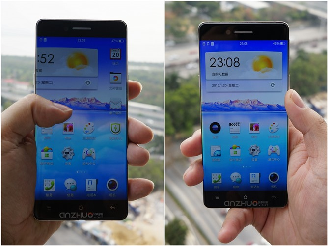 An Oppo Phone With Teeny-Tiny Bezels Leaks On A Chinese Tech Site