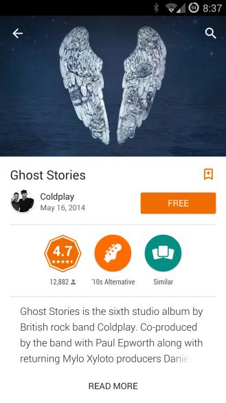 ColdplayAlbum