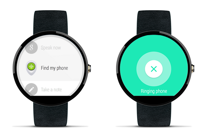 Find your phone with Android Wear