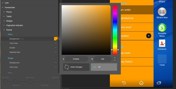Sony Releases Theme Creator Beta For Xperia Devices With Hundreds Of