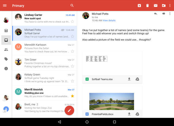 Gmail-Attachments