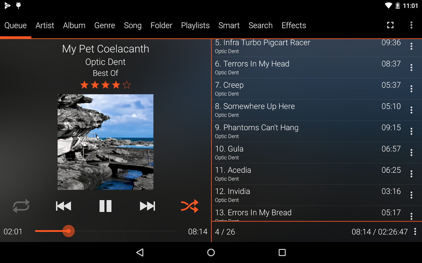 GoneMAD Music Player Goes 2 0 With Material Design And Over 1,000