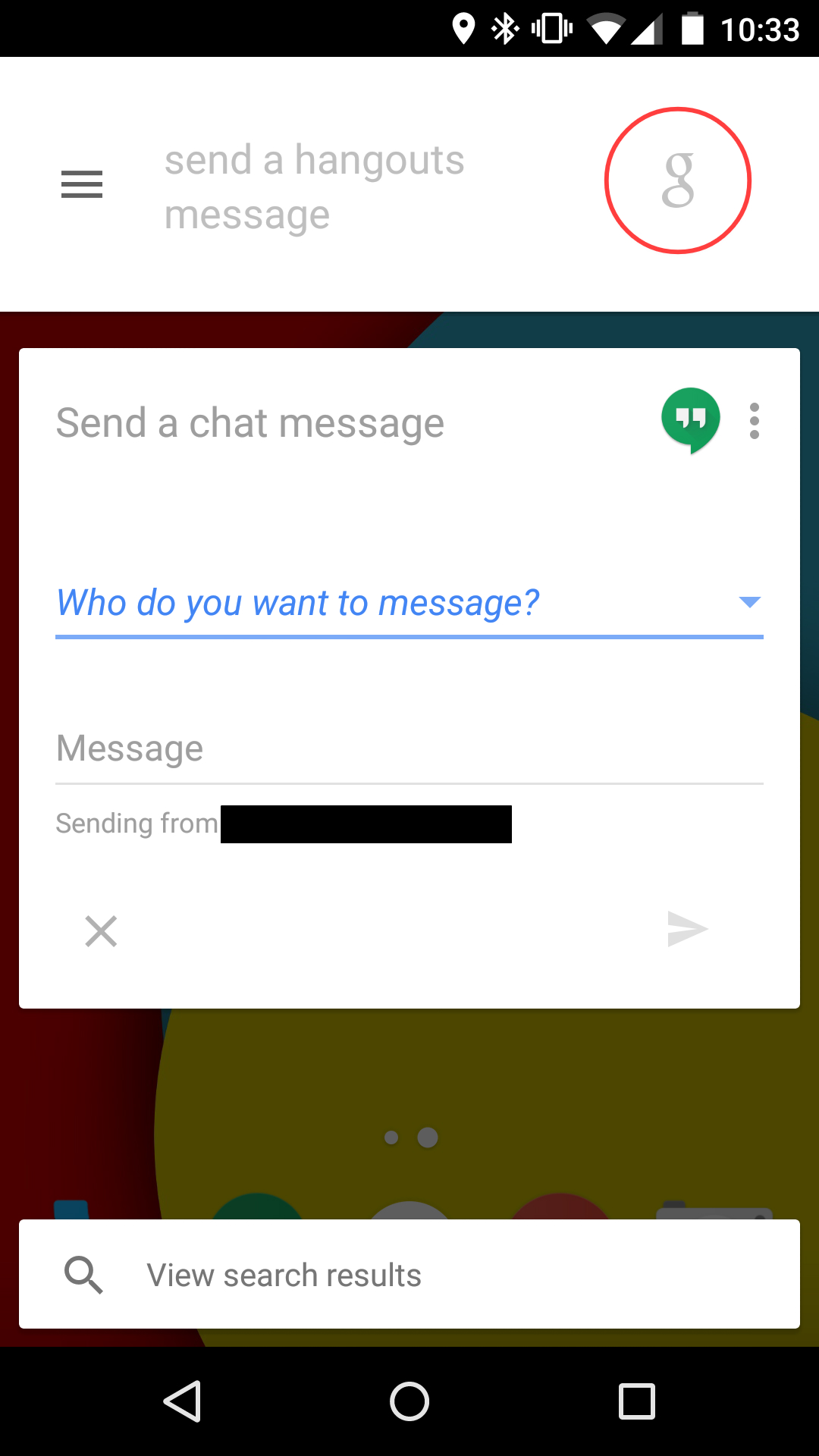 how to delete messages on hangouts