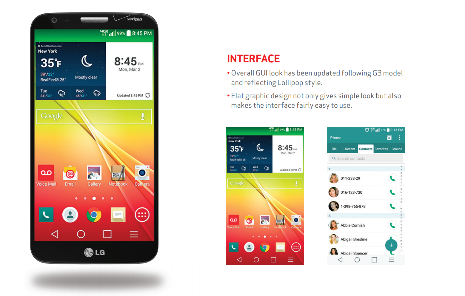 LG G2 On Verizon Wireless Receives OTA Update With Android