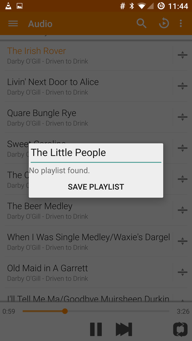 VLC For Android 1 2 Adds Audio Playlists And Better Android