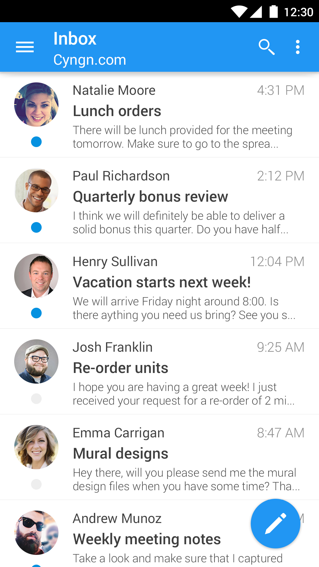 Cyanogen OS Switches To Boxer As Its Email Client — Fresh New Interface And Premium Features ...