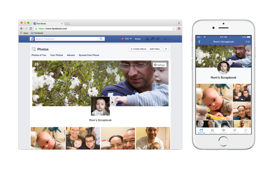 Facebook Introduces Scrapbooks A New Way For Parents To Tag And