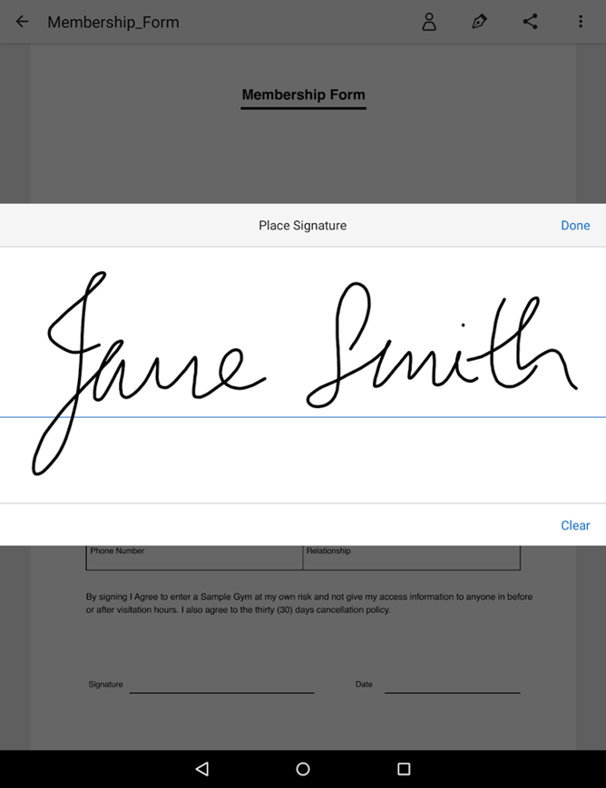 Adobe's Fill & Sign Makes It Easy To Digitize And Fill Out Tedious Forms