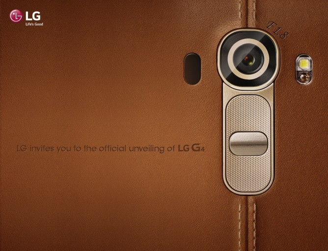 LG G4 US Invite