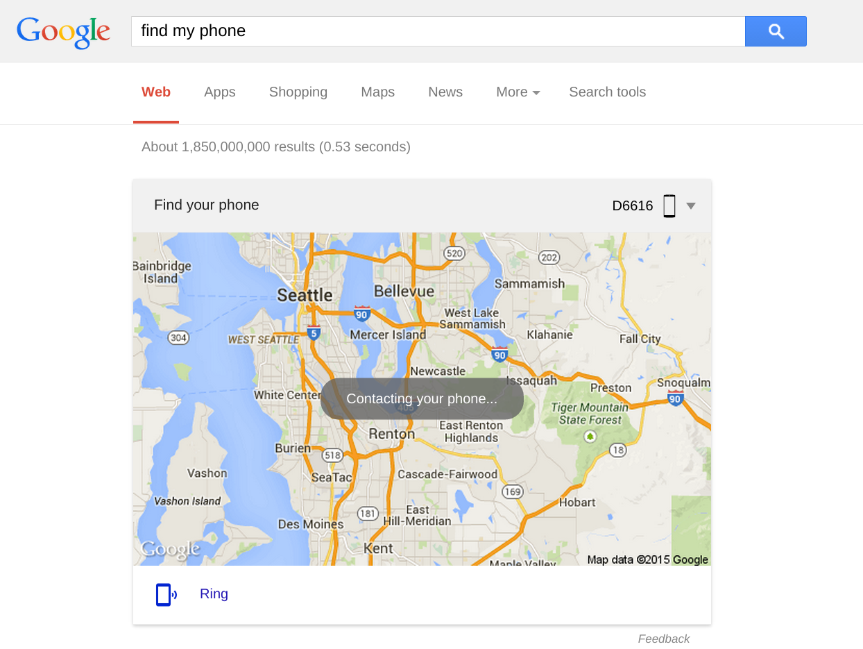 Phone Google Android Find Phone type find my phone into google on your computer and immediately screenshot 2015 04 15 at 5 17 10 pm edited