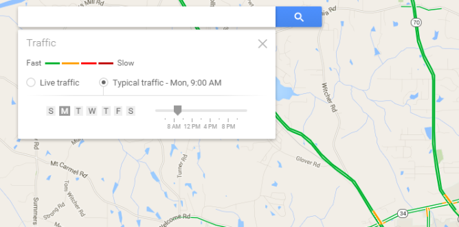 nexus2cee_current-google-maps-web-interface-typical-traffic