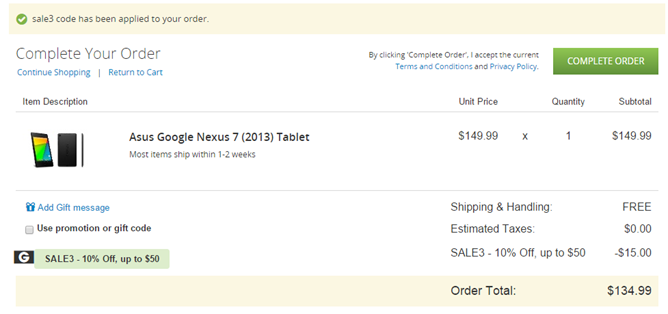 Deal Alert] Groupon Offers The 2013 Nexus 7 16GB For Just