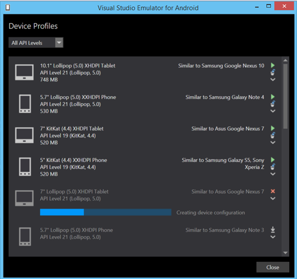 Microsoft Releases Updated Visual Studio Emulator for Android With
