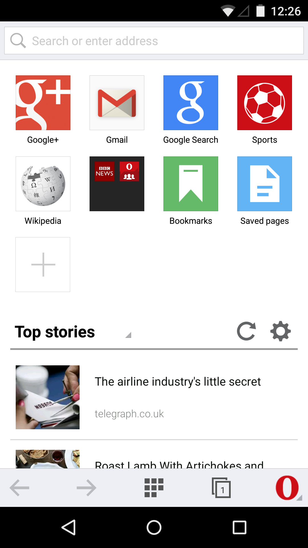 Opera Mini Browser V8 Gets A Big Visual Overhaul Private Tabs High