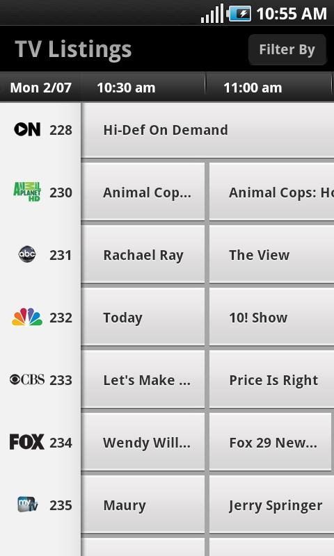 XFINITY TV (Comcast) Remote App Gets A Graphical Redesign In