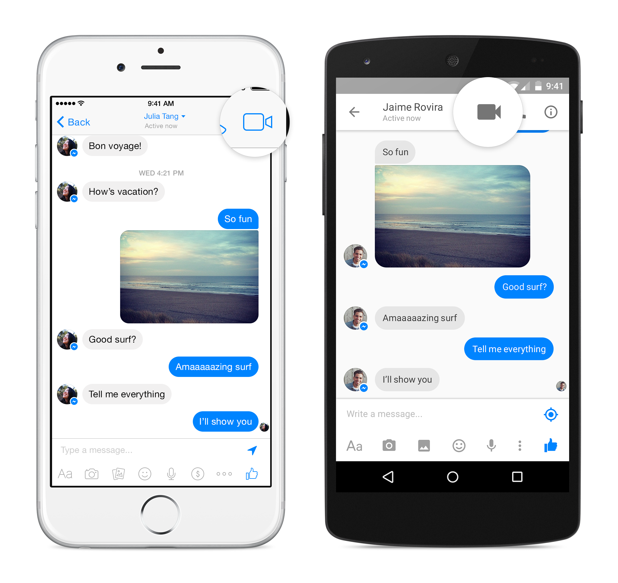Facebook Adds Free Video Calling To Messenger App, No Update