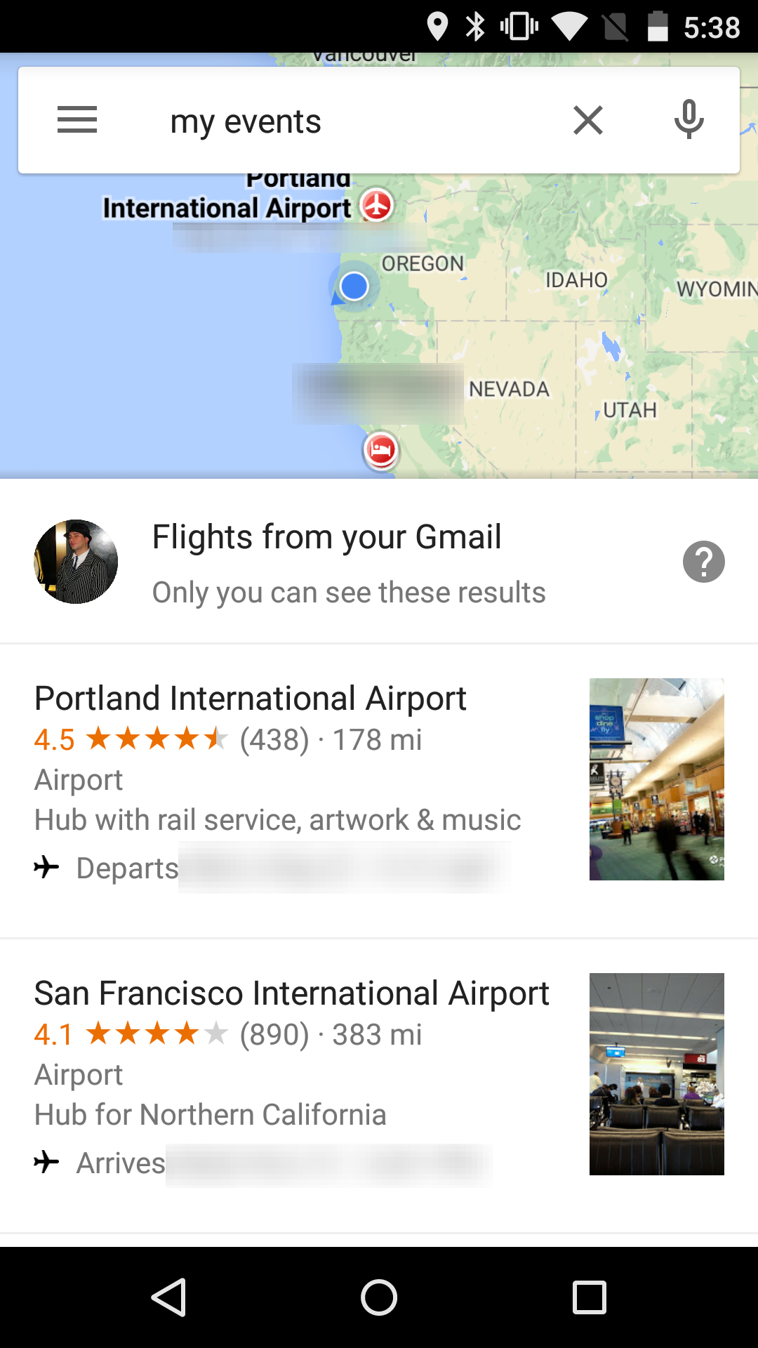 how to get the map on google flights