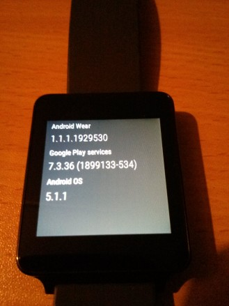 The Android Wear 5.1.1 Rollout Has Begun For The LG G ...