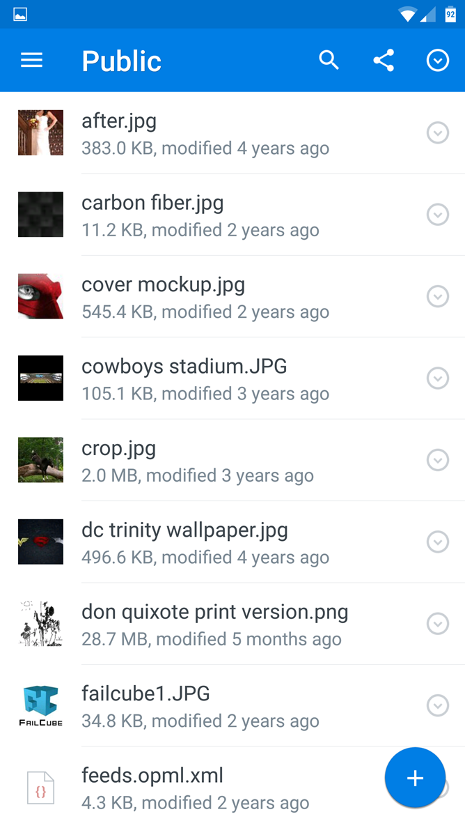 APK Download] Dropbox Gets A Material Design Makeover And