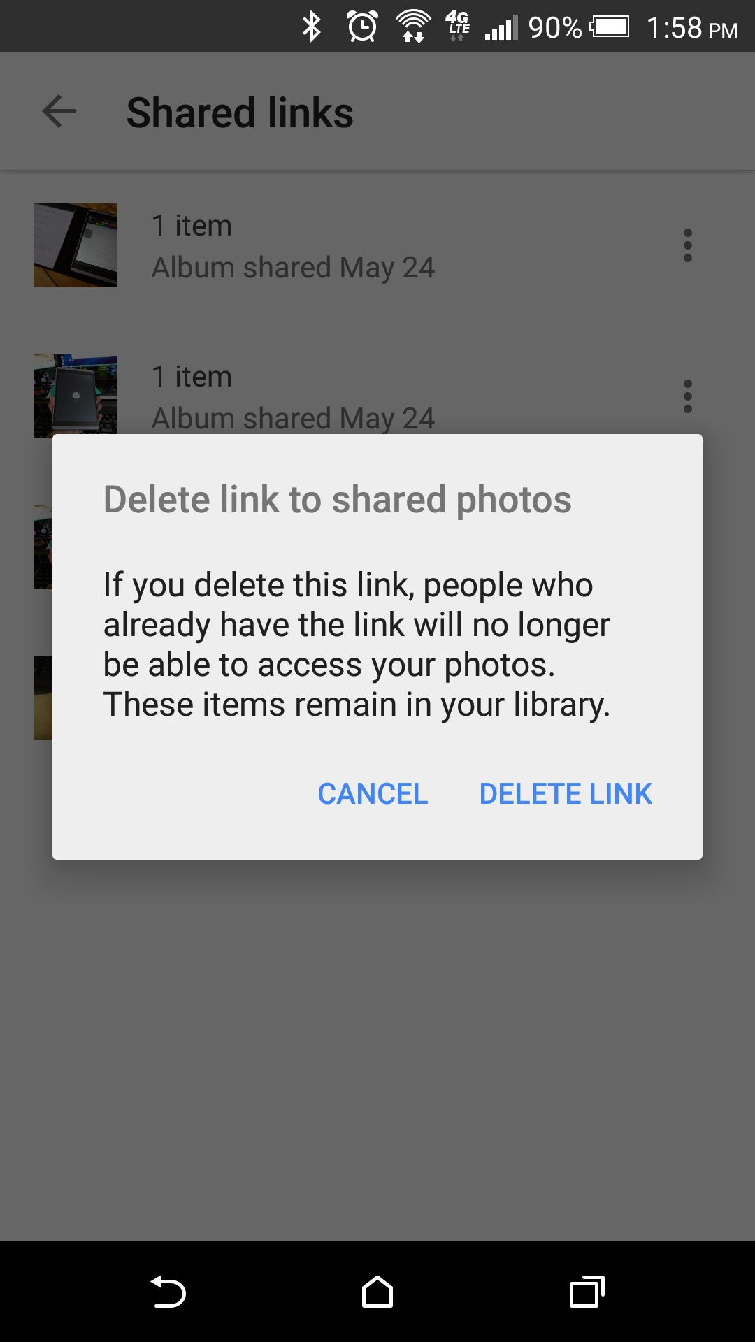 How to delete scrapbook photos google+ -  2015 05 24 18 58 26