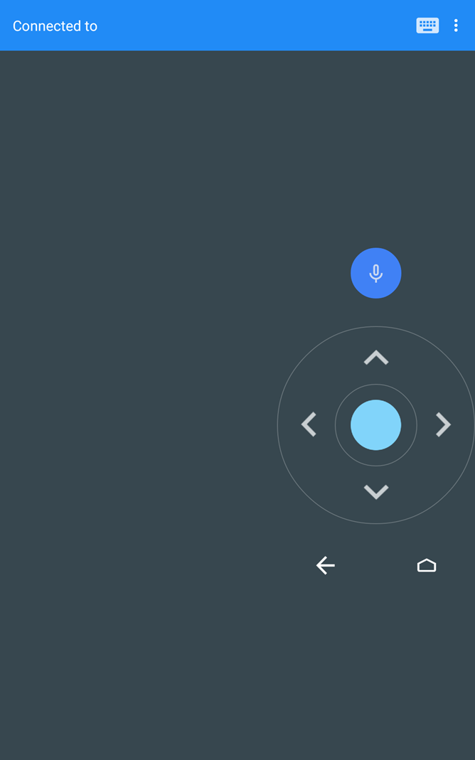 APK Download] Android TV Remote 1 1 Improves Button And Trackpad