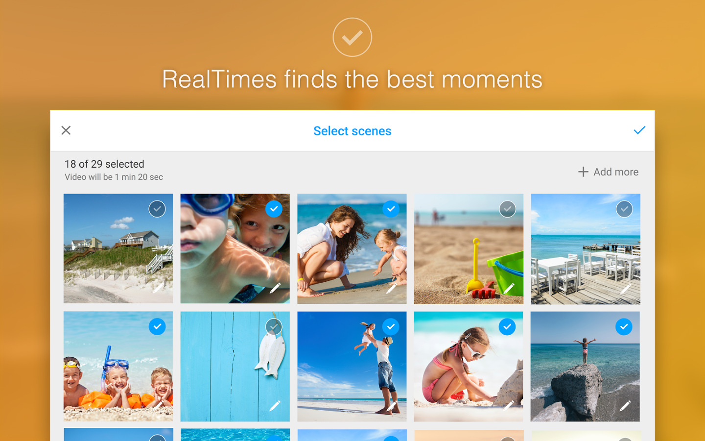 RealTimes is the latest RealPlayer with integrated cloud services and much more. Now it's very easy to store, share (privately or public) and watch videos on any device.
