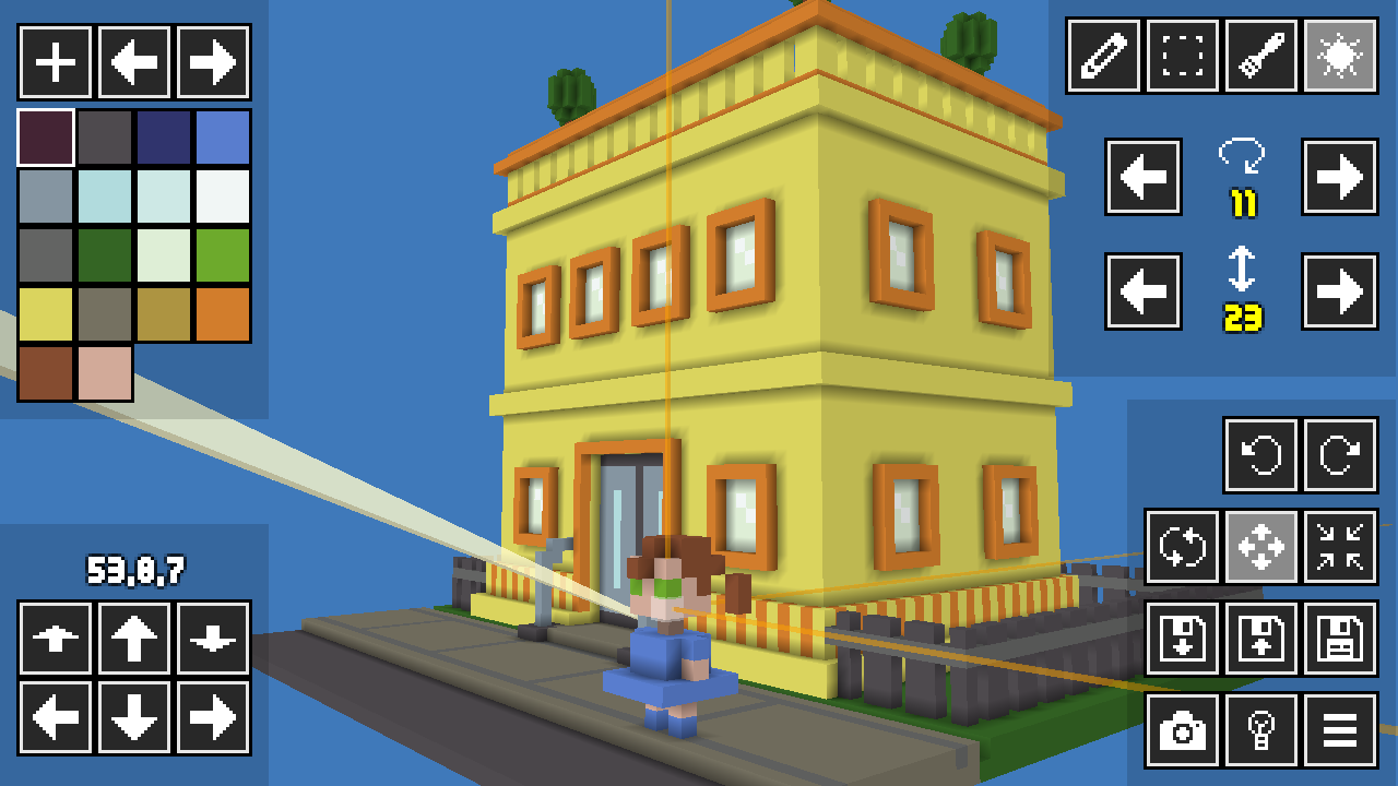 VoxelMaker Lets You Build 3D Pixel Art Worlds With Simple Touch