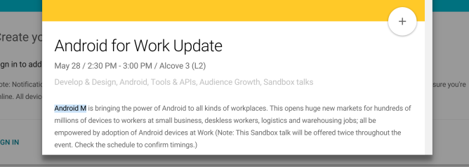 AndroidMmentionAndroidforWork