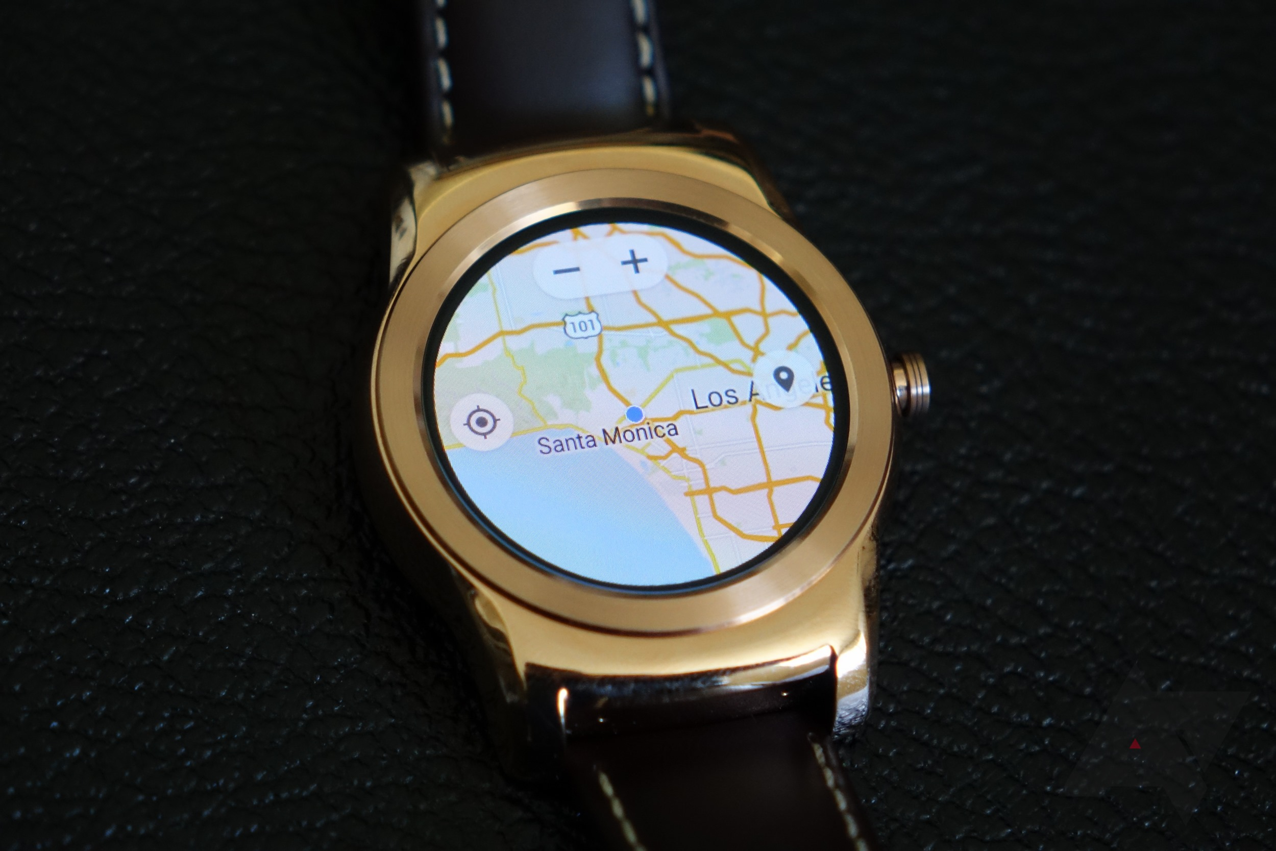 This Is Google Maps For Android Wear Running On A Watch Urbane - Plot my walk google maps