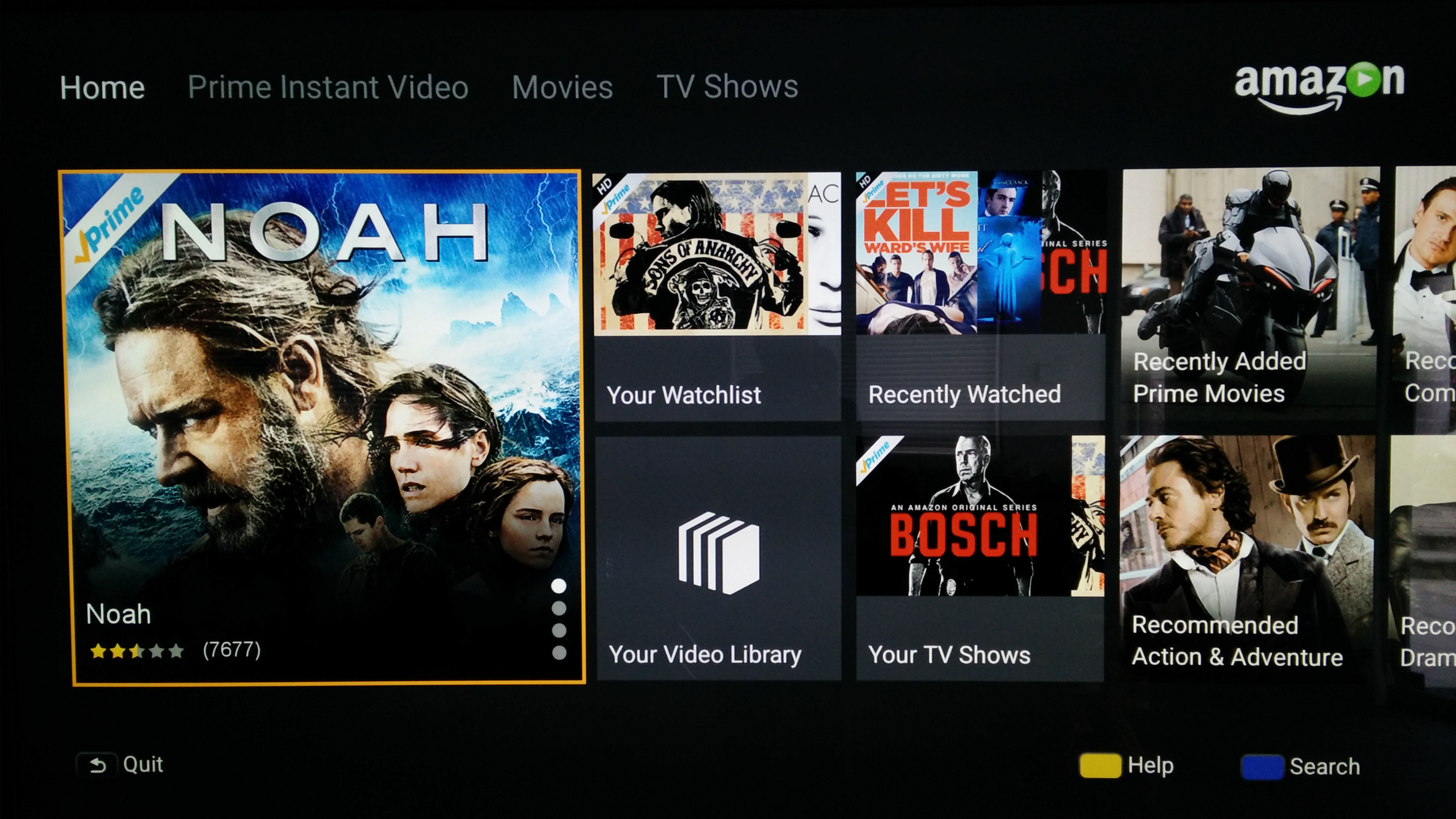 turns out the amazon instant video apk from a sony tv actually