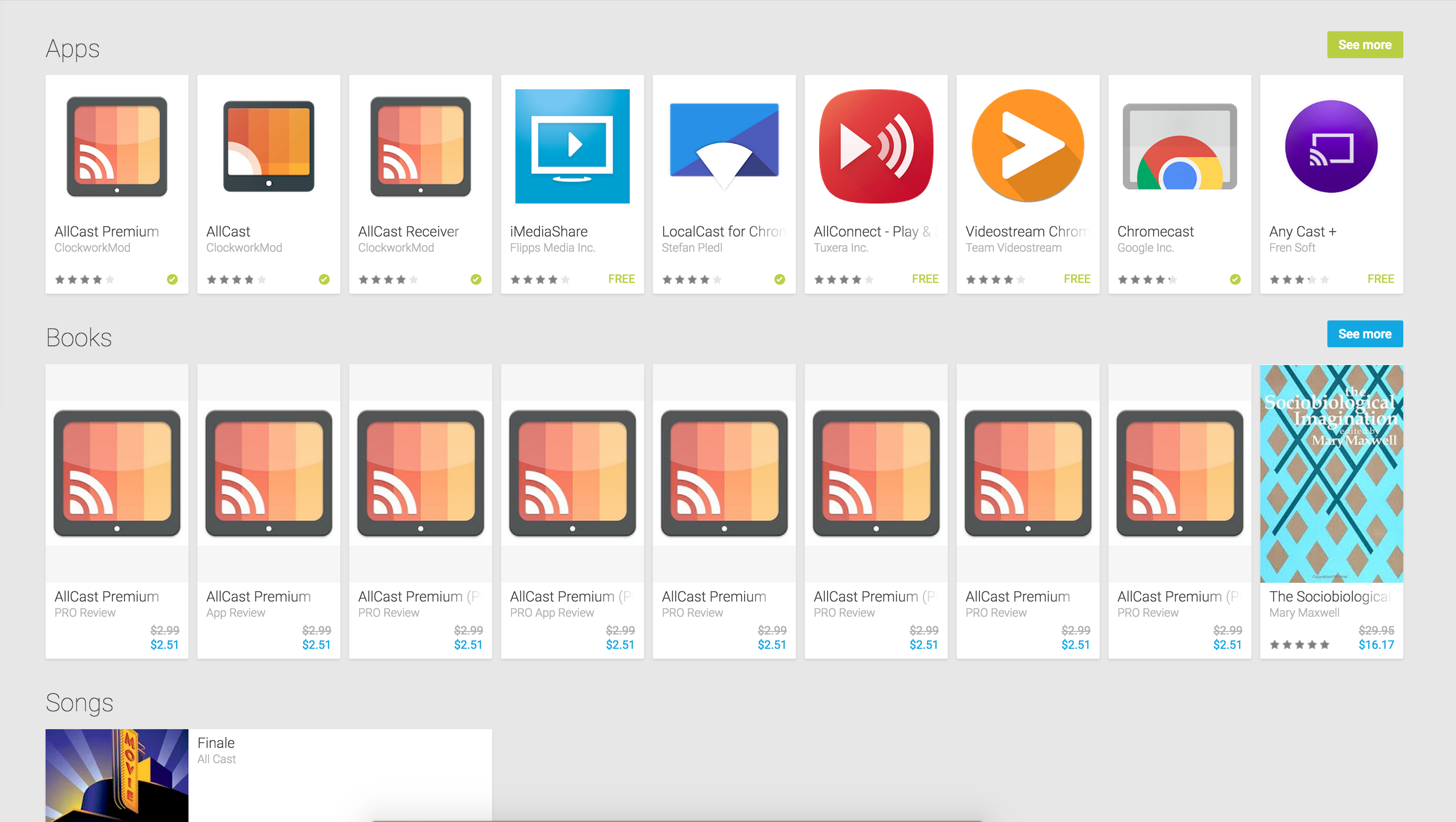 Google Play Books Still Has An Alarming Number Of Scammy