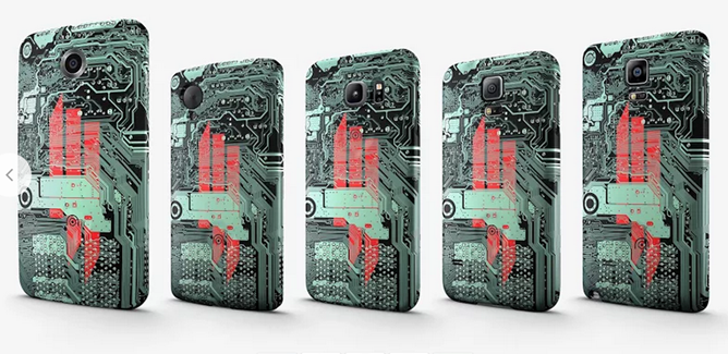 The google store now sells skrillex branded cases with matching live remember those hints of a google workshop with user customizable phone cases with matching wallpapers that android police showed off back in april voltagebd Gallery