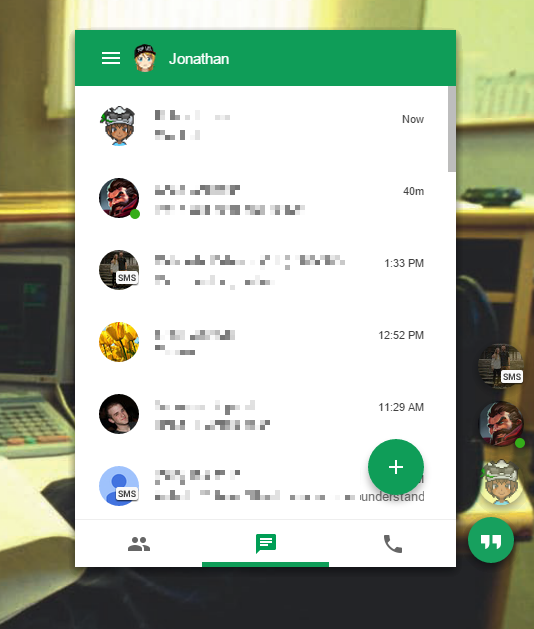 Google Updates Hangouts Chrome App With New Android-Inspired