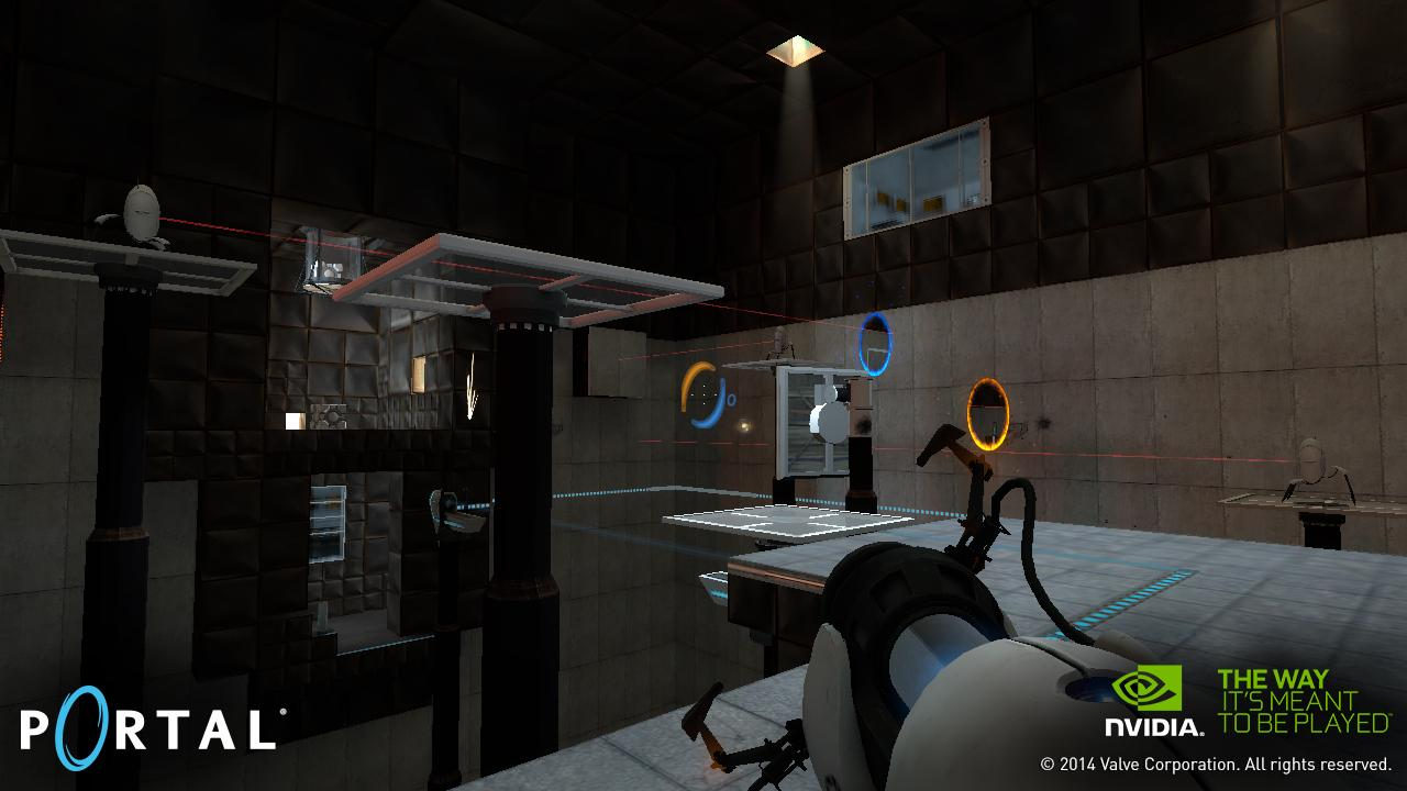 Portal And Half-Life 2 Updated With Support For SHIELD