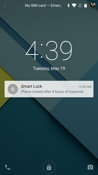 Smart Lock Now Notifies You When It Locks Your Phone After 4 Hours Of Inactivity